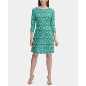New Tommy Hilfiger Printed Jersey Dress